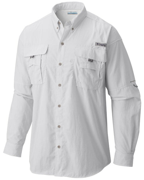 Columbia PFG Bahama II shirts are a must to protect yourself and stay cool when on the water or trail. Shop Bennetts Clothing for a large selection of mens outdoor shirts and shorts