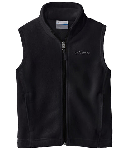 Columbia Steens Mountain fleece vest will keep the chill at bay on your lil one this season. Shop Bennetts Clothing for Columbia to fit the entire family. Orders ship same day to your front door leaving you more time to play.
