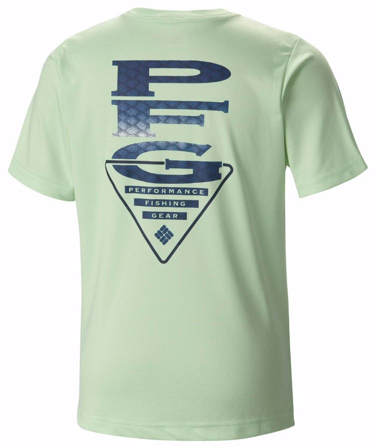 Columbia Boys PFG Stacked Scales T-Shirt-Key West - Bennett's Clothing - 1