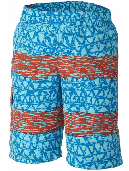 Columbia Boys Solar Stream II Board Shorts-Super Blue - Bennett's Clothing - 1