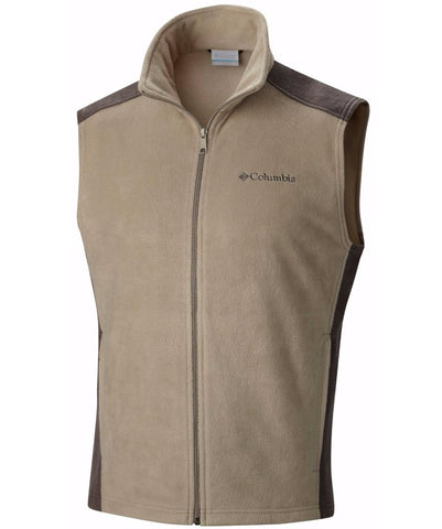 Columbia Sportswear Men's Steens Mountain Vest-Tusk/Buffalo - Bennett's Clothing - 1