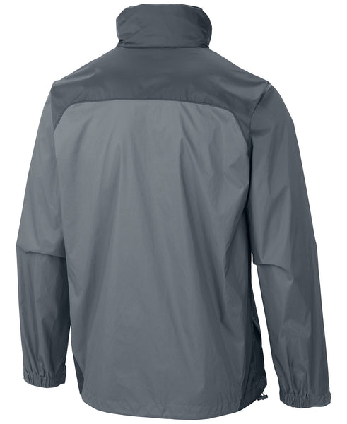 Columbia Mens Glennaker Lake Rain Jacket-Grey Ash