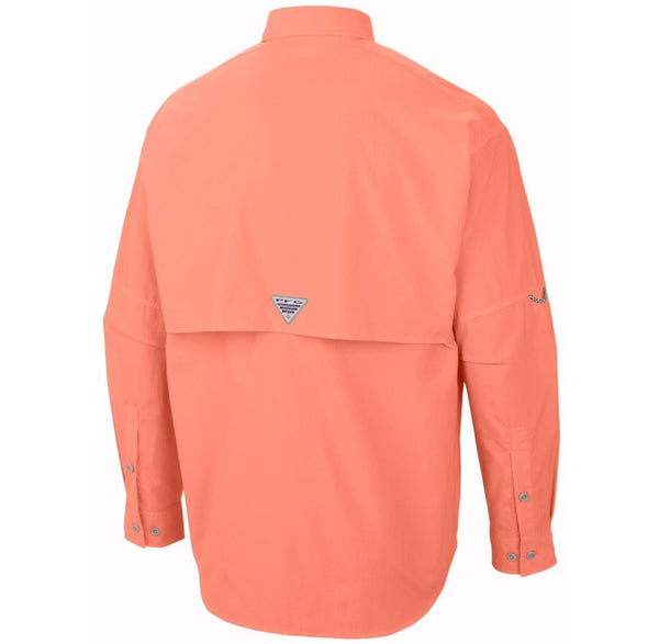 Columbia Sportswear PFG Long Sleeve Bahama II Shirt-Bright Peach - Bennett's Clothing - 2
