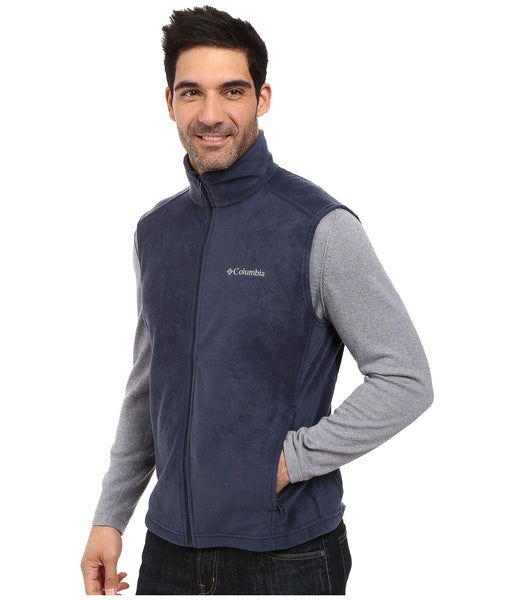 Columbia Men's Steens Mountain Vest-Navy