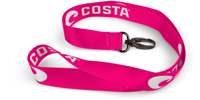 Costa Del Mar Lanyard works great for keys or photo id's but shows your outdoor style. Shop Bennett's Clothing for a large selection of Costa gear with same day shipping.