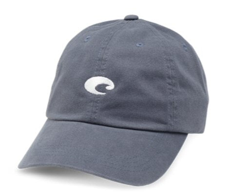 Costa Del Mar Mini Logo Twill Cap-Slate Blue