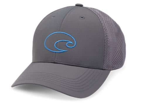 Costa Structured Performance Logo Trucker Hat-Grey