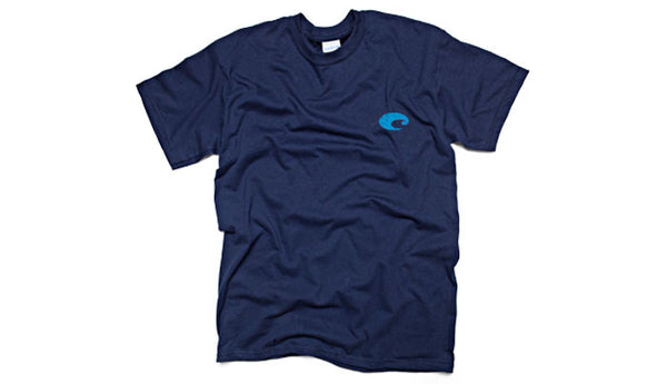 Costa Del Mar Retro T-Shirt-Navy
