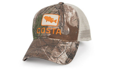 Costa Bass Trucker Hat-Camo-Stone - Bennett's Clothing