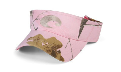 Costa Del Mar Cotton Visor-Realtree Pink Camo - Bennett's Clothing