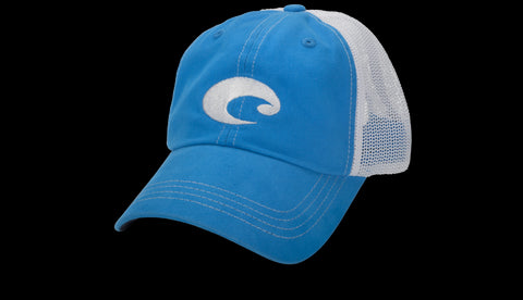 Costa Mesh Trucker Hat-Ocean Blue - Bennett's Clothing