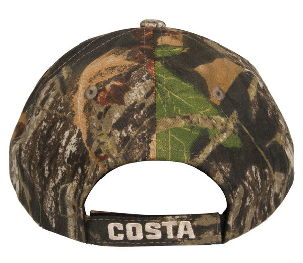 Costa Del Mar Logo Twill Cap-Camo - Bennett's Clothing - 2