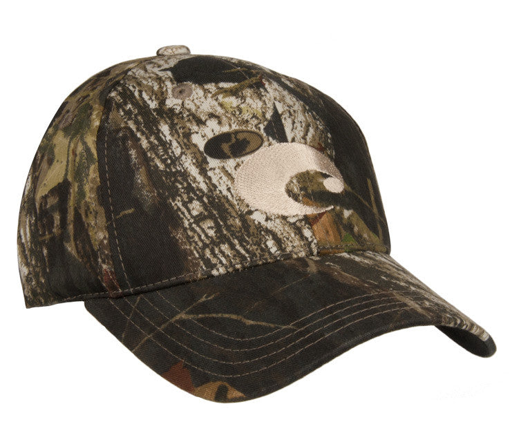 Costa Del Mar Logo Twill Cap-Camo - Bennett's Clothing - 1