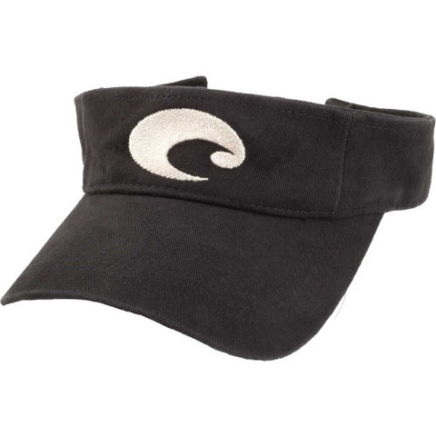 Costa Cotton Visor-Black - Bennett's Clothing