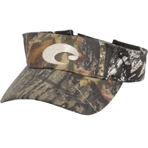 Costa Cotton Visor-Camo - Bennett's Clothing