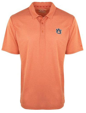 Drake Auburn Heathered Polo was made for all day tailgating and looking your best. Shop Bennetts Clothing for the best in mens outdoor-wear.