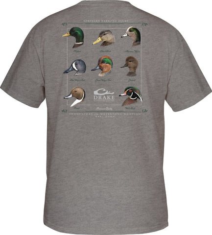 Drake Puddle Duck Collection T-Shirt brings out the duck lover in all of us. Shop Bennetts Clothing for a large selection of outdoor wear from the brands you love.