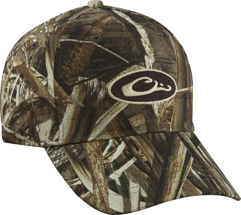 Drake Waterfowl Cotton Camo Cap-Realtree Max-5