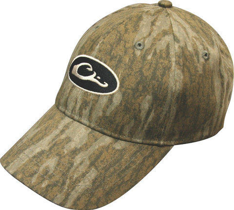 Drake Waterfowl Cotton Camo Cap-Mossy Oak Bottomland