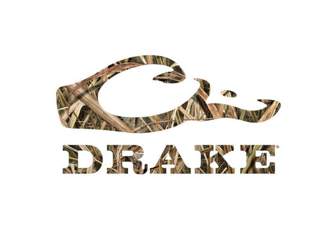 Drake Waterfowl Drake Head Decal-Blades