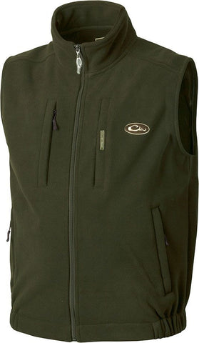 Drake Waterfowl Mens MST Layering Vest-Olive - Bennett's Clothing