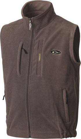 Drake Waterfowl Mens MST Layering Vest-Grey - Bennett's Clothing
