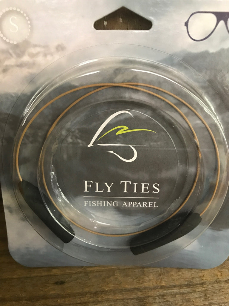 Fly Ties Sunglass Retainer-Small-Khaki