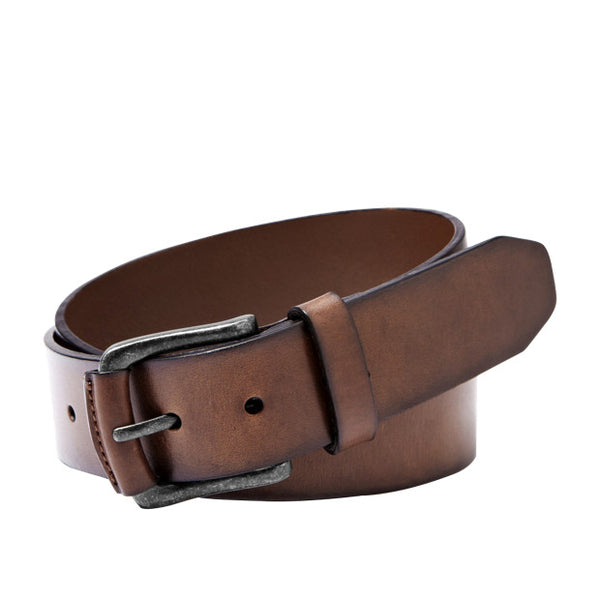 The Carson leather belt from Fossil adds style to any outfit. Shop Bennetts Clothing for the styles you want from the brands you love
