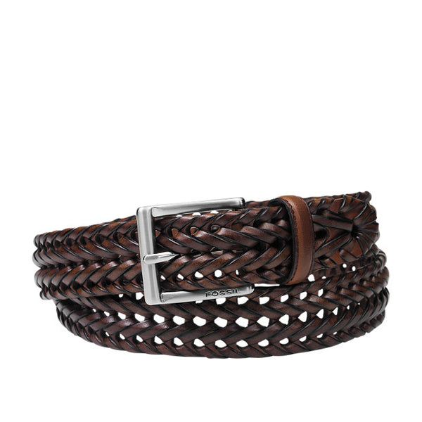 Myles braid leather belt from Fossil. Shop Bennetts Clothing for the styles you want from the brands you love