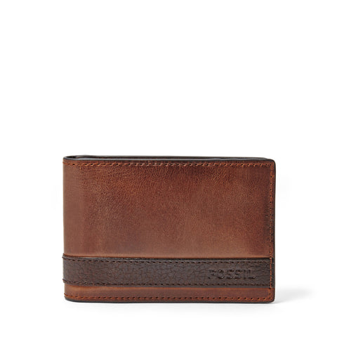 The Quinn leather Bifold Money Clip from Fossil is one classy wallet. Shop Bennetts for the brands you want at a great price.