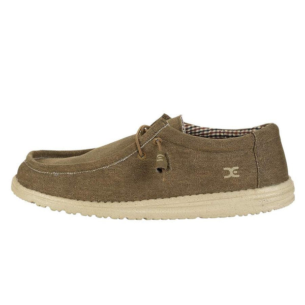 Hey Dude Wally Canvas Slip-on Shoe-Nut