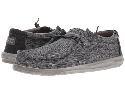 Hey Dude Wally Woven slip-on shoe is the most comfortable mens shoe ever! Shop Bennetts Clothing for the most popular brands shipped to your door the fastest.