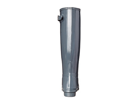 Hunter Original Tall Gloss Rain Boot-Graphite - Bennett's Clothing - 3