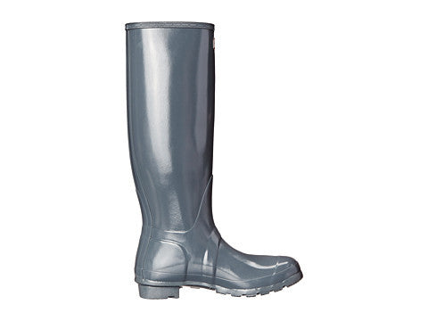 Hunter Original Tall Gloss Rain Boot-Graphite - Bennett's Clothing - 4
