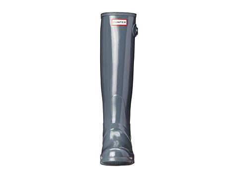 Hunter Original Tall Gloss Rain Boot-Graphite - Bennett's Clothing - 5