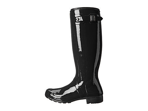 Hunter Original Tour Gloss Rain Boot-Black - Bennett's Clothing - 2