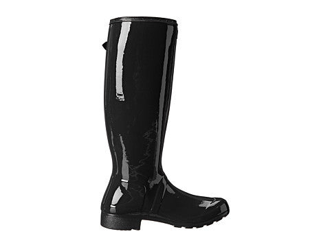 Hunter Original Tour Gloss Rain Boot-Black - Bennett's Clothing - 4