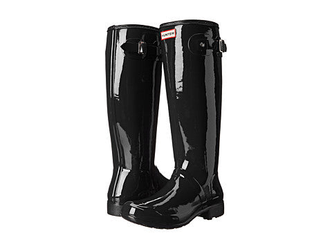 Hunter Original Tour Gloss Rain Boot-Black - Bennett's Clothing - 1