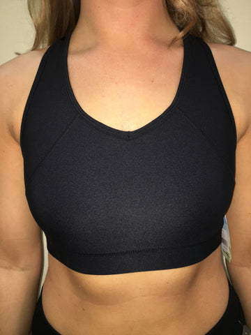 Jacques Moret Ultra Racerback Sports Bra-Black - Bennett's Clothing - 1
