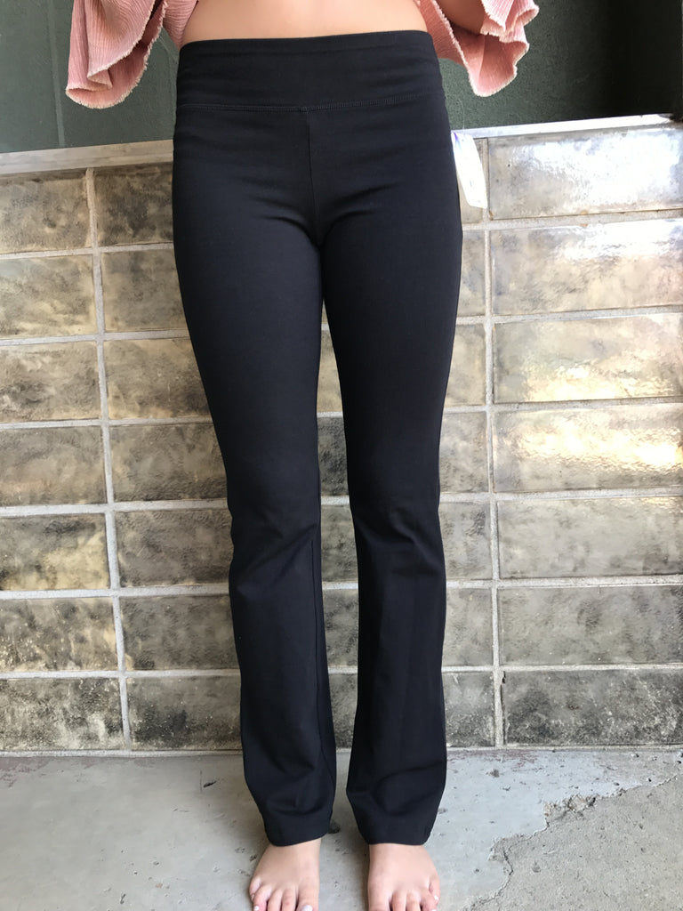 Jacques Moret Ultra Boot Workout Pant-Black