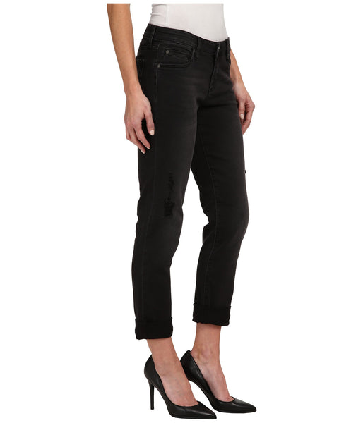 Kut from the Kloth Catherine Boyfriend Jean-Black - Bennett's Clothing - 4