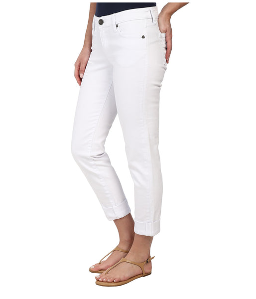 Kut from the Kloth Catherine Boyfriend Jean-White - Bennett's Clothing - 2
