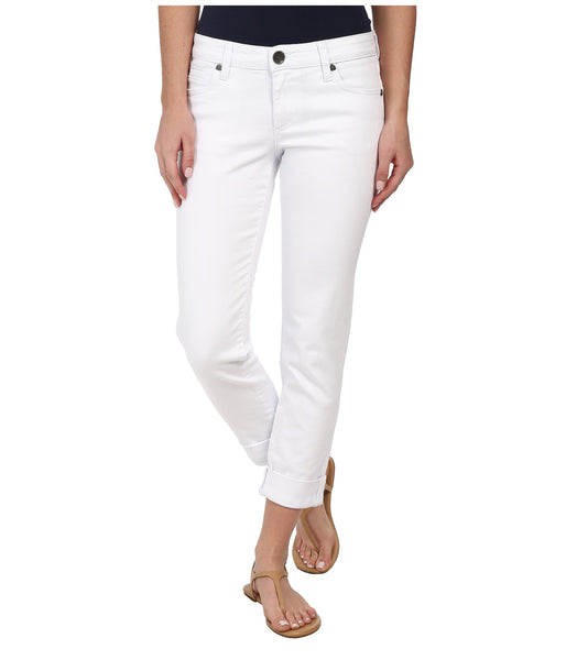 Kut from the Kloth Catherine Boyfriend Jean-White - Bennett's Clothing - 1