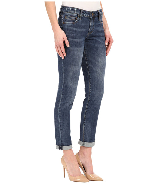 Kut from the Kloth Catherine Boyfriend Jean-Worldly wash - Bennett's Clothing - 4