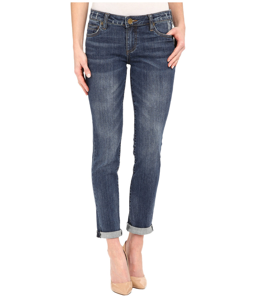 Kut from the Kloth Catherine Boyfriend Jean-Worldly wash - Bennett's Clothing - 1