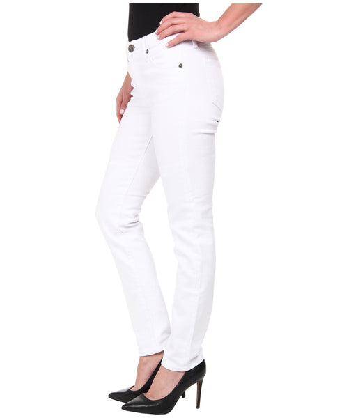 Kut from the Kloth Diana Skinny Jean-White - Bennett's Clothing - 2