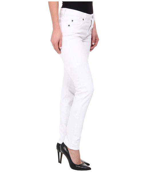Kut from the Kloth Diana Skinny Jean-White - Bennett's Clothing - 4