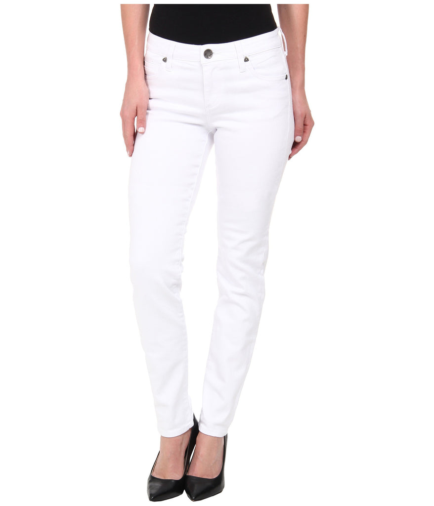 Kut from the Kloth Diana Skinny Jean-White - Bennett's Clothing - 1