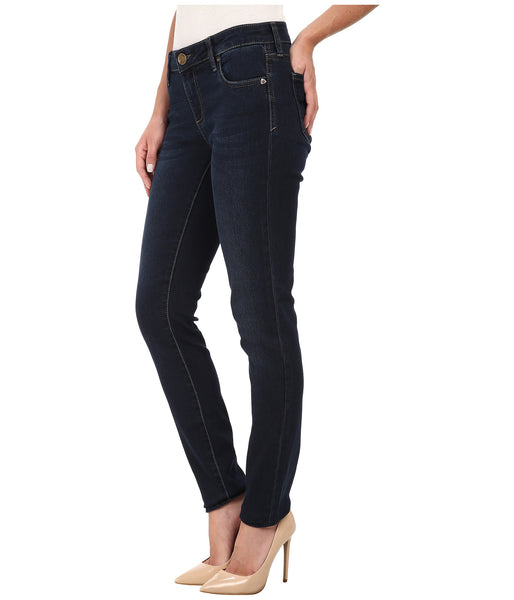KUT from the Kloth Mia Toothpick Skinny Jean-Approve Wash - Bennett's Clothing - 2