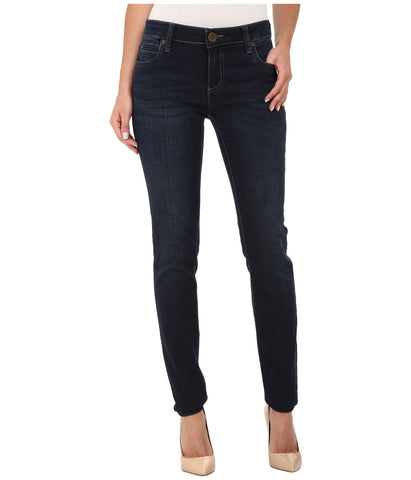 KUT from the Kloth Mia Toothpick Skinny Jean-Approve Wash - Bennett's Clothing - 1